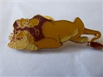 Disney Trading Pins Loungefly - Parents with Children Blind Box  - Simba