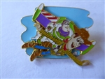 Disney Trading Pins Loungefly Disney Pixar Toy Story Woody & Buzz Layered