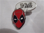 Disney Trading Pin Loungefly Marvel Deadpool Blind Box - Quote