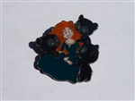 Disney Trading Pins Loungefly Brave Merida and Bear Brothers