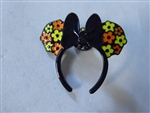 Disney Trading Pins Loungefly Minnie Mouse Ear Headband - Yellow and Orange Flowers
