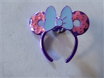Disney Trading Pins Loungefly Minnie Mouse Ear Headband - Purple Donut