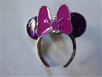 Disney Trading Pins Loungefly Minnie Mouse Ear Headband - Purple Glitter