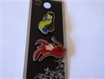 Disney Trading Pin LOUNGEFLY MUSHU & MULAN PIN SET