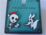 Disney Trading Pin Loungefly Nightmare Before Christmas Jack & Zero Set