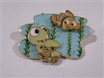 Disney Trading Pin Loungefly Finding Nemo Squirt & Nemo Layered