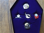Disney Trading Pin Loungefly The Nightmare Before Christmas Enamel Pin Gift Set