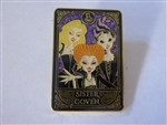 Disney Trading Pin Loungefly Hocus Pocus Sanderson Sisters Tarot Card