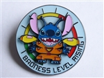 Disney Trading Pins Loungefly Stitch Spinning Badness Level Rising