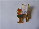 Disney Trading Pin Loungefly Aristocats Toulouse Paint Lenticular