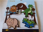 Disney Trading Pin Loungefly Toy Story Character Set