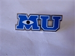 Disney Trading Pin  Monster's University MU Unreleased Silver Prototype