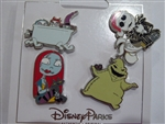 Disney Trading Pin Nightmare Before Christmas Icons 4 Pin Set