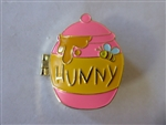 Disney Trading Pin Pin-Go Event Winnie the Pooh PIGLET  Hunny Pot