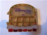 disney trading pin 2019 Disneyland Hotel Wreck it Ralph and Venellope Gingerbread House