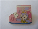 Disney Trading Pin Shanghai Rain Boot Mystery Collection Stella Lou Rain Coat