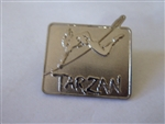 Disney Trading Pin Broadway Musical Silver Tarzan