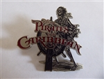 Disney Trading Pin Skeleton at the Helm Wheel Pirates of the Caribbean