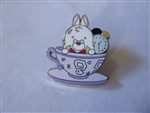 Disney Trading Pin DLR - It's A Small Fantasyland Mystery - White Rabbit