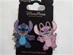 Disney Trading Pin Stich and Angel 2 Pin Set