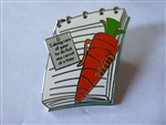 Disney Trading Pins Stocking Stuffers  Carrot Pen and Notebook