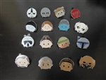 Disney Trading Pin   Star Wars - Tsum Tsum Mystery Pin Pack - Series 3 Complete set of 16 pin