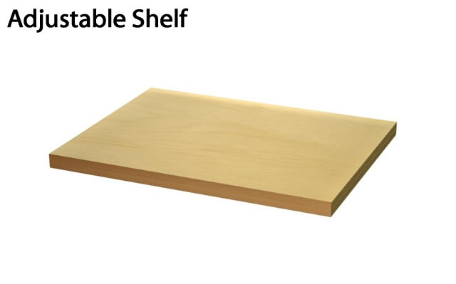adjustable shelf for cabinets