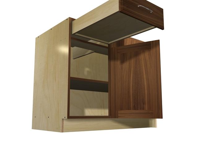 1 Door Drawer Blind Corner Base Cabinet