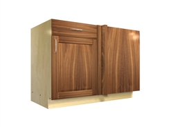 1 door 1 drawer blind corner base cabinet (RIGHT side hinged with integrated filler)