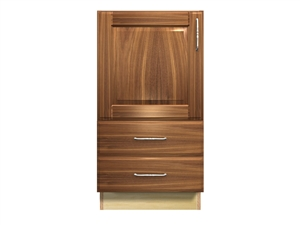1 door and 2 bottom drawers base cabinet