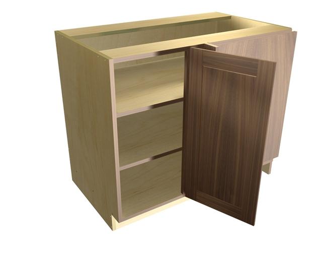 1 Door Blind Corner Base Cabinet Hinged Right