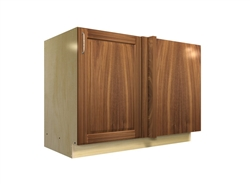 1 door blind corner base cabinet (RIGHT side hinged with integrated filler)