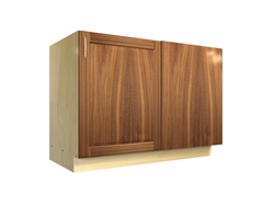1 door base cabinet with blank panel return (RIGHT side hinged)