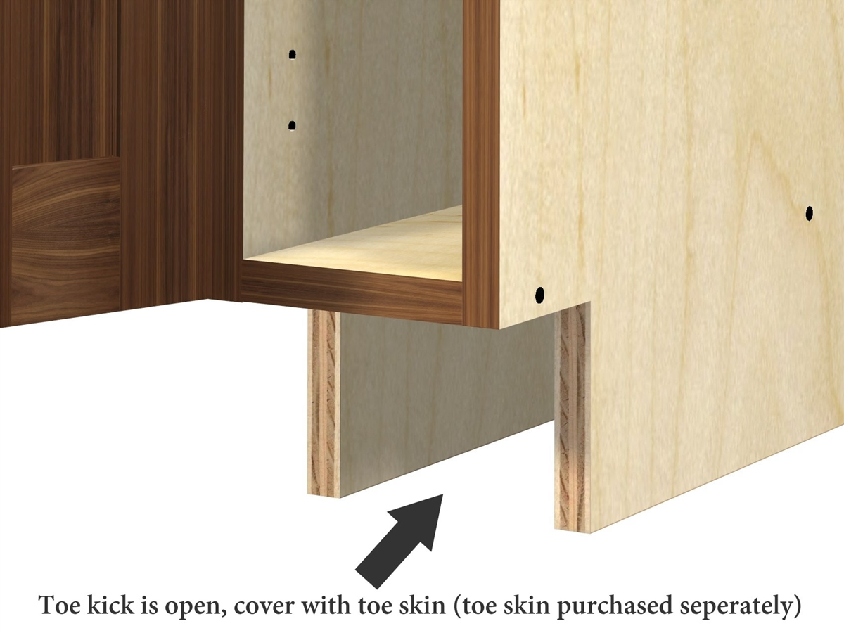 Cabinet Kick Plate Door Base Cabinet Slim Version