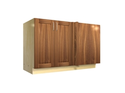 2 door blind corner base cabinet (RIGHT side hinged with integrated filler)