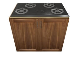 2 door COOKTOP base cabinet