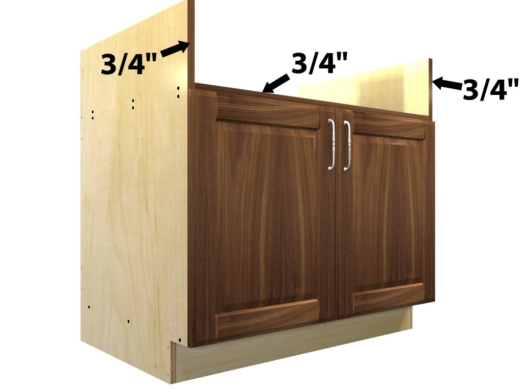 Rangetop Base Cabinet