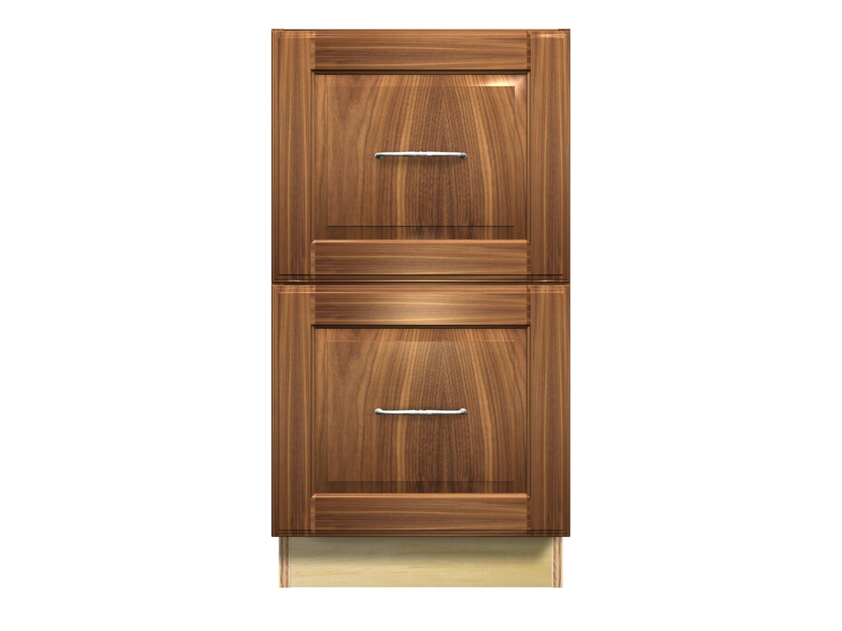 2 drawer file cabinet letter sized files