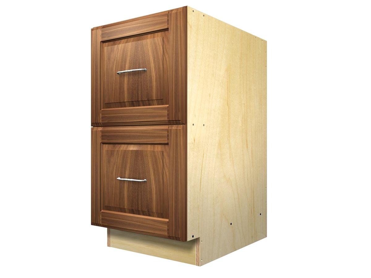 2 Drawer Base Cabinet