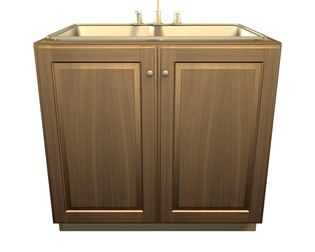 2 door SINK base cabinet. Larger Photo Email A Friend  sc 1 st  Barker Cabinets & 2 door SINK base cabinet