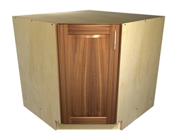45 degree base cabinet