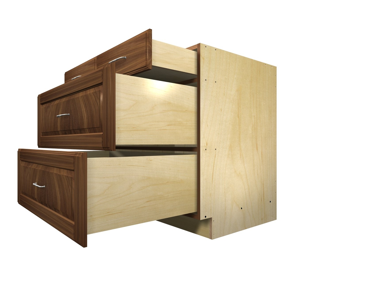 Superieur 4 Drawer With Split Top Base Cabinet