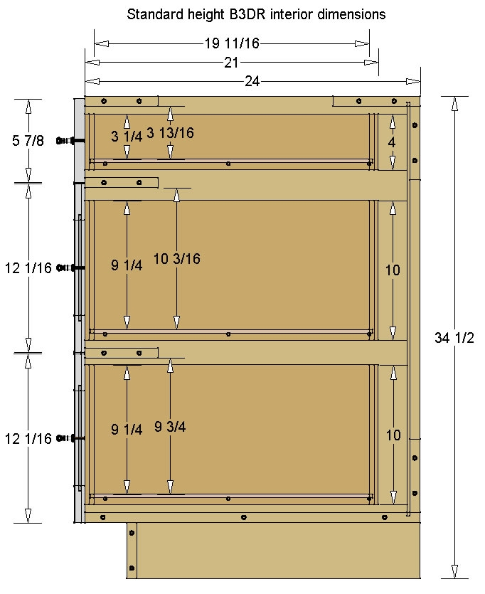 Standard Base Cabinet Height