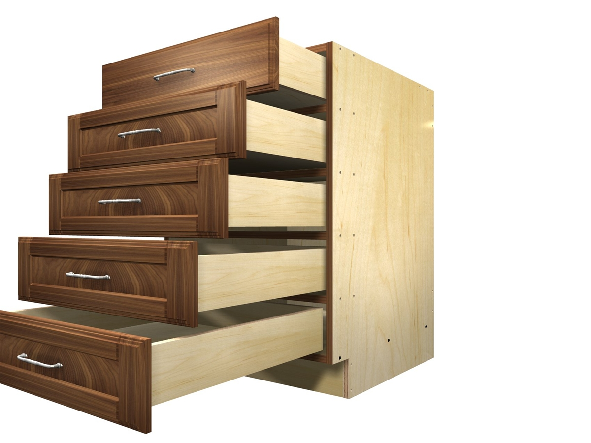 base drawer kitchen cabinets 5 drawer base cabinet 10948