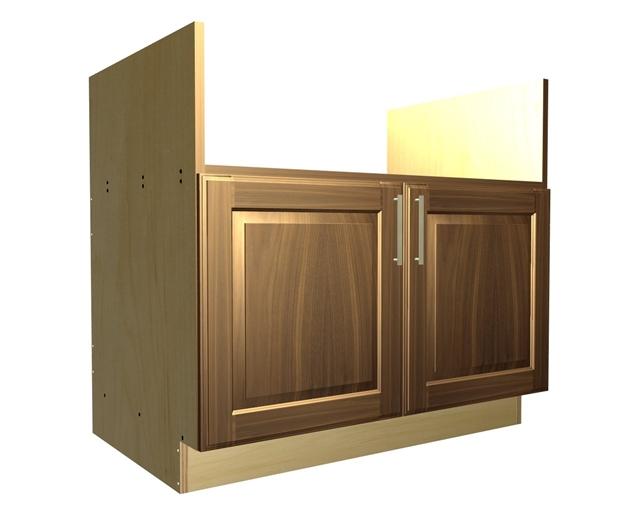 2 door farm sink ...  sc 1 st  Barker Cabinets & 2 door farm sink base cabinet
