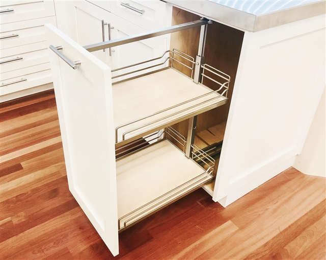 1 Door Base Cabinet With Pullout Hafele Base Pullout 2 2 X Shelves Included