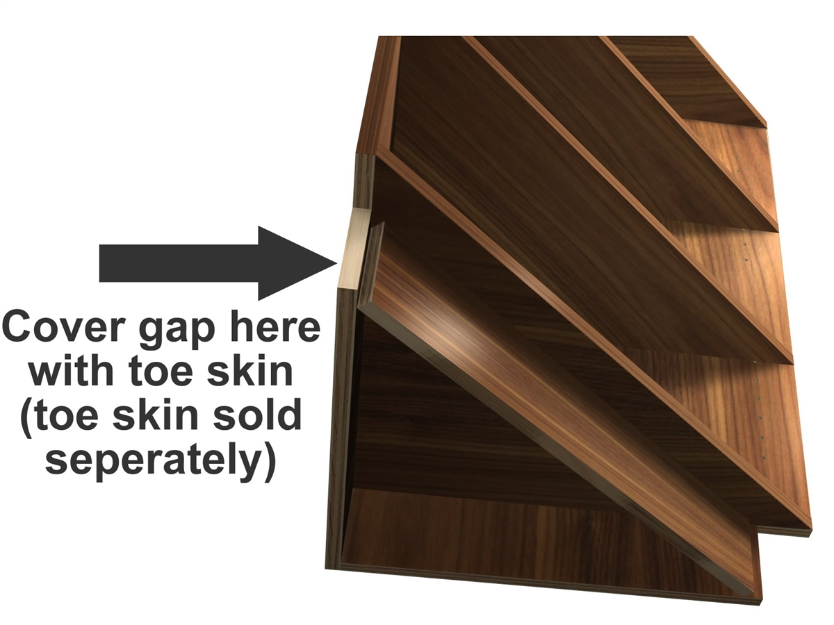 0 door exposed interior corner shelf base cabinet (UNFINISHED/RAW WOOD  INTERIOR)