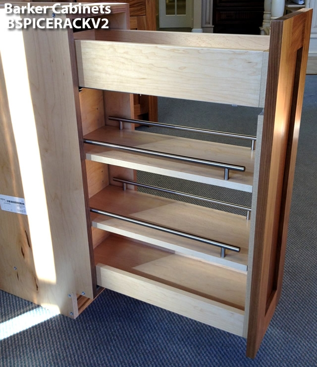 Pullout Spice Rack Cabinet ...
