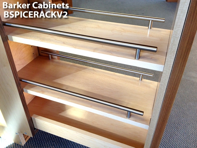 Pullout Spice Rack Cabinet
