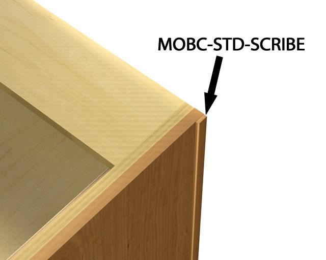 Scribe Molding